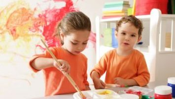 Painting at Young Academics