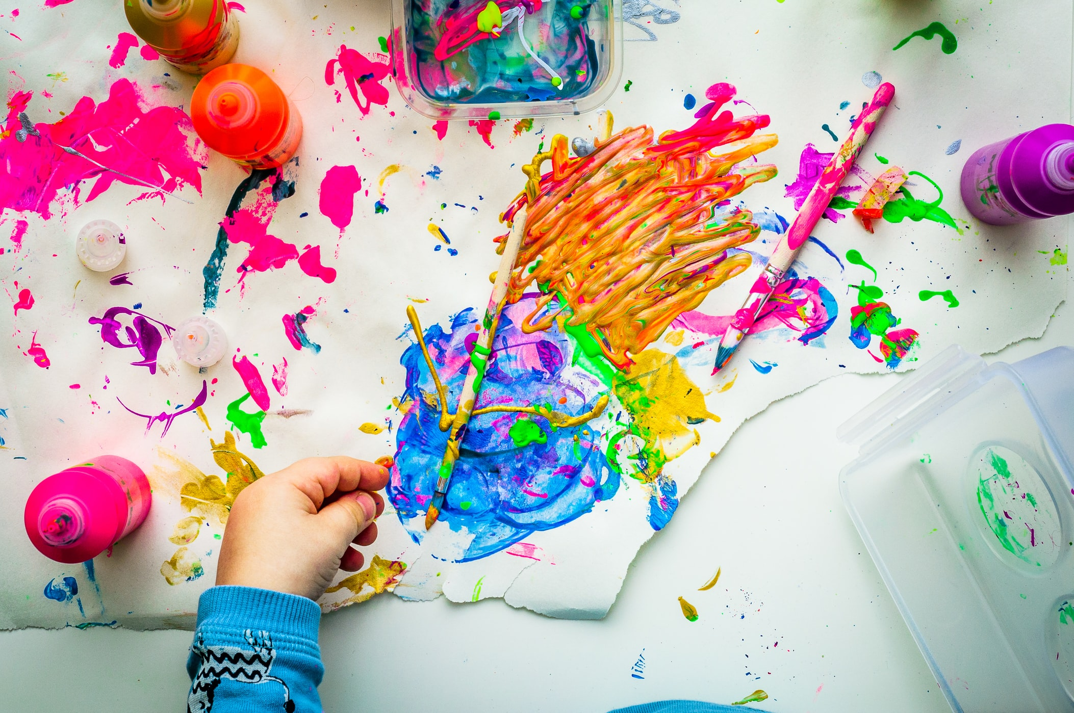 Easy at-home fun: Painting